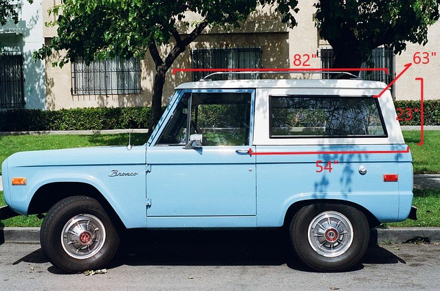 How Much Does An Early Bronco Top Weigh Gear And Cylinder
